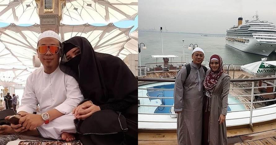 9 Momen mesra Bebi Silvana dan Opick liburan setelah menikah