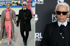 Perjalanan karier Karl Lagerfeld, tekuni fashion dari usia belia