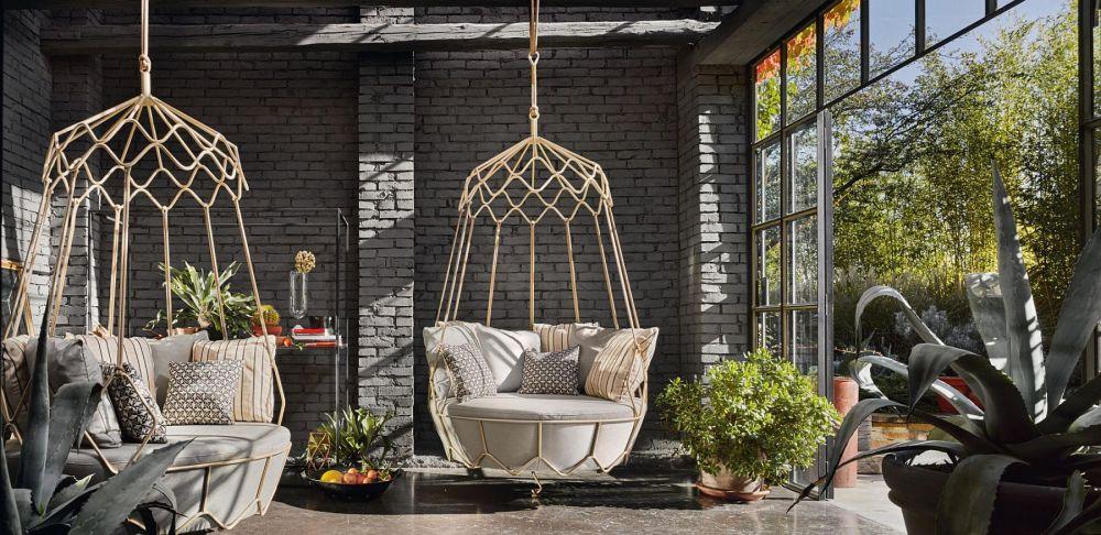 desain ruang tamu tropis  © 2019 brilio.net