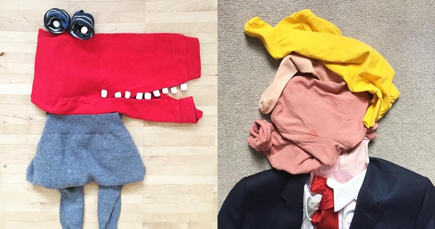 10 Kreasi lipatan item fashion ini hasilkan bentuk unik