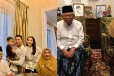 Kunjungi Ma'ruf Amin, Raffi Ahmad & Nagita dapat nasihat bijak