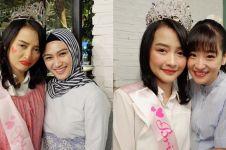 8 Momen keseruan bridal shower Kinal eks JKT48, acaranya di mal