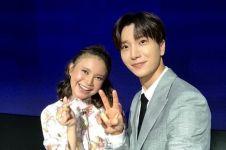 Potret Rossa bareng Leeteuk Super Junior, banjir komentar K-Popers