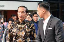 Jokowi jenguk Ani Yudhoyono di Singapura, disambut AHY & Hatta Rajasa
