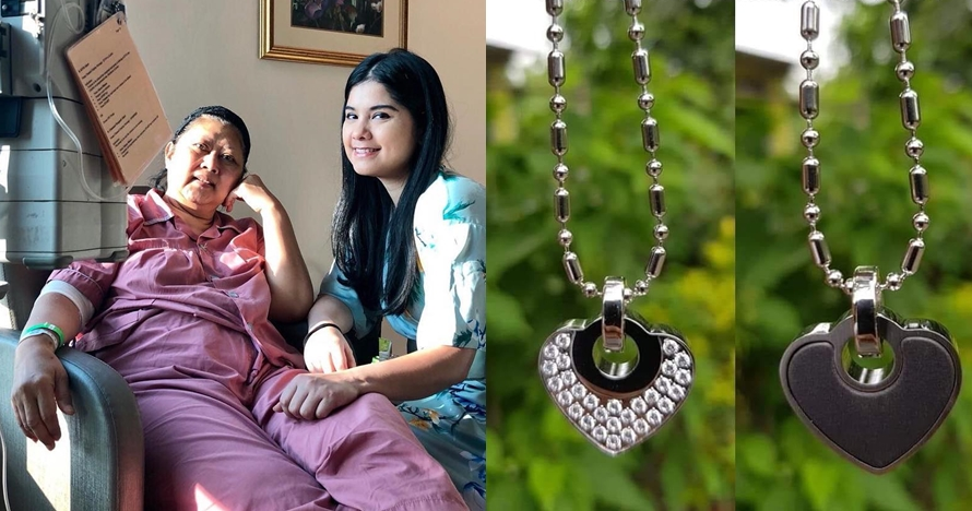 Ani Yudhoyono diberi fans kalung kesehatan, ini harga & khasiatnya