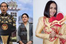 Jokowi jenguk dan beri hadiah Shakira, ini curhat haru Denada