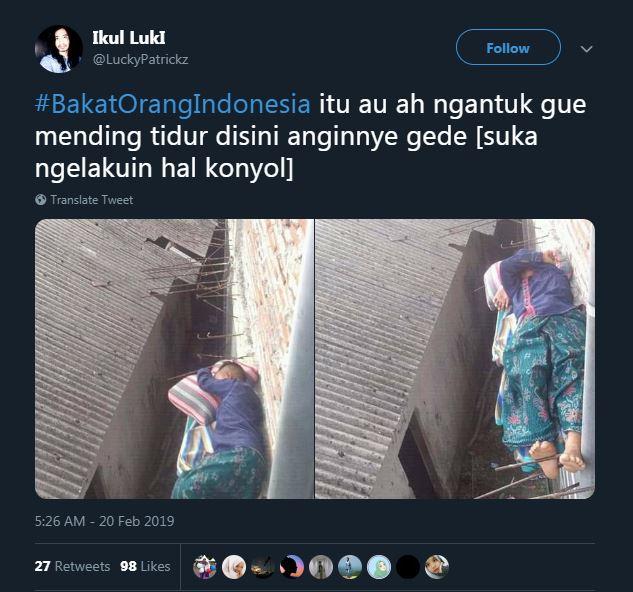 cuitan bakat orang indonesia © 2019 brilio.net