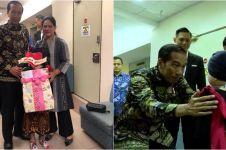 Video mengharukan Shakira anak Denada dijenguk Jokowi, bikin mewek