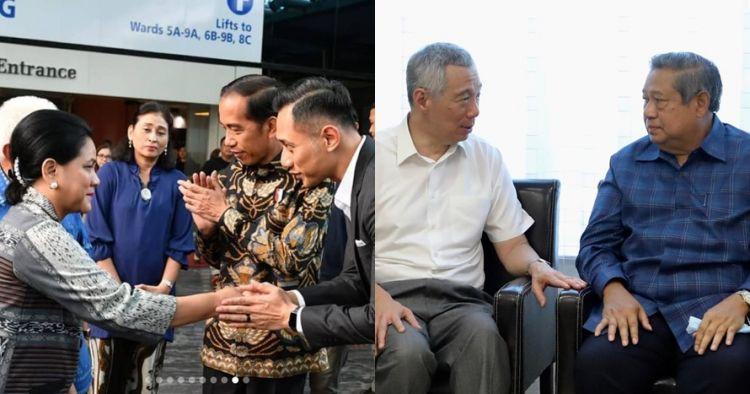 7 Tokoh ini jenguk Ani Yudhoyono, ada PM Singapura