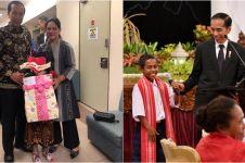 Shakira Aurum dan 4 anak ini dapat hadiah spesial dari Jokowi