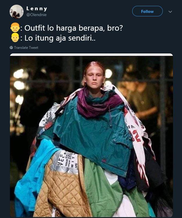 cuitan harga outfit © 2019 brilio.net