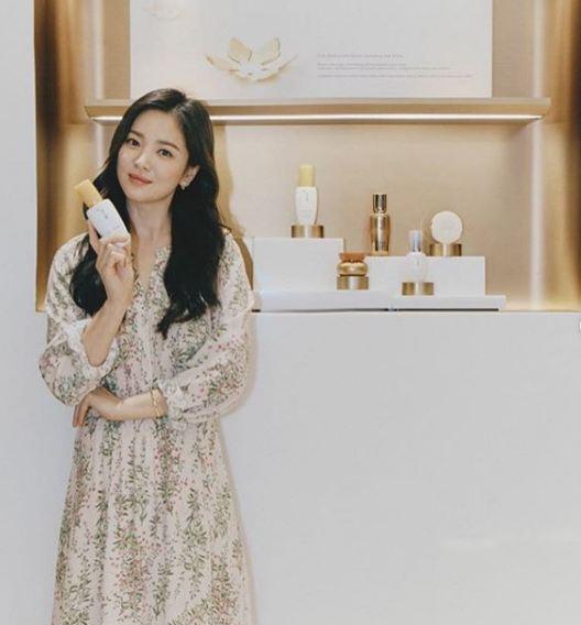 penampilan terkini Song Hye-kyo Instagram
