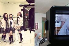 10 Potret Bella Luna saat syuting, dari sinetron hingga presenter