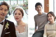 Dirumorkan bercerai, ini perjalanan cinta Song Hye-kyo & Song Joong-ki