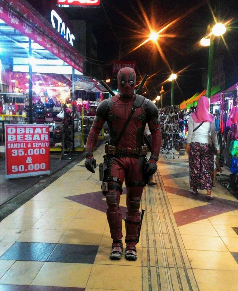 superhero di Indonesia instagram