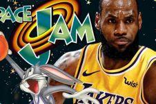25 Tahun berlalu, sekuel Space Jam akan hadir bareng LeBron James