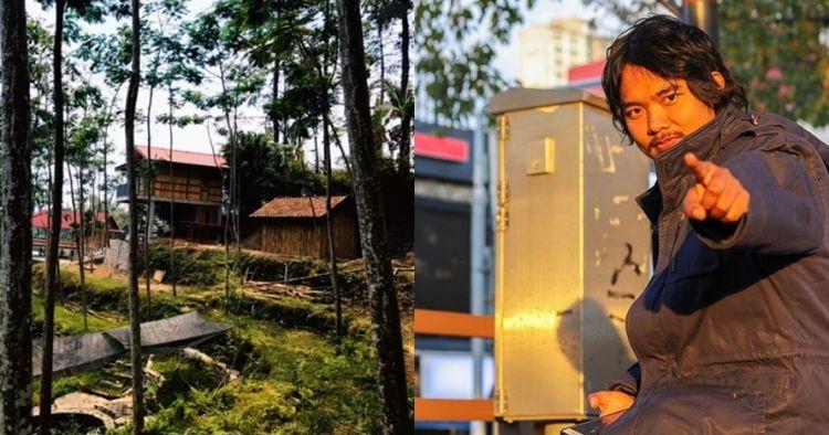 7 Potret rumah Dodit Mulyanto di hutan, ada arena pacuan kuda