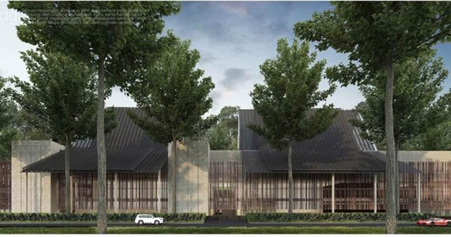 Pabrik KA terbesar siap dibangun, arsitekturnya khas Suku Osing