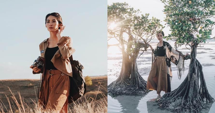 7 Ide foto travel unik ala fotografer fashion Nicoline Patricia