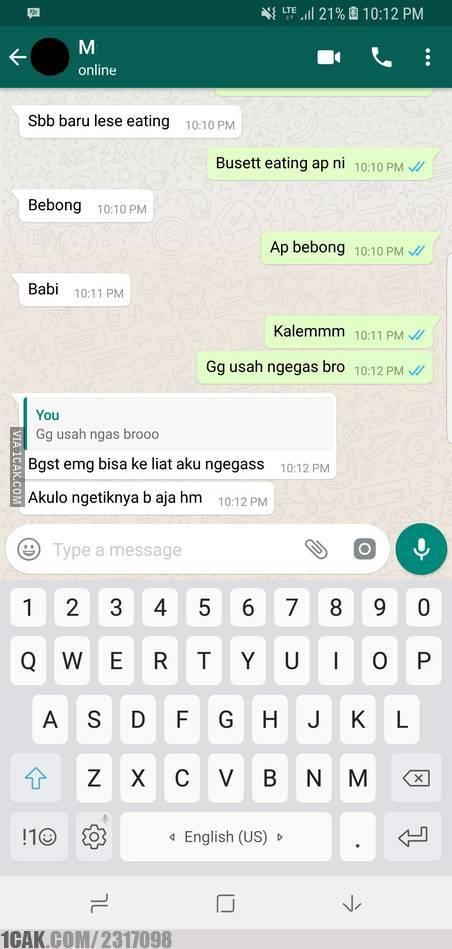 chat kok ngegas © 2019 berbagai sumber