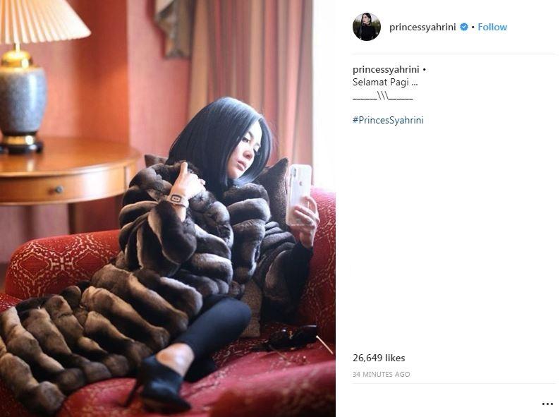 postingan terbaru syahrini jelang nikah © Instagram/@princessyahrini
