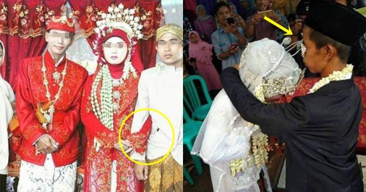 12 Momen absurd pengantin ini bikin ngakak