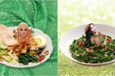 20 Foto editan lucu fashion Syahrini digabungkan dengan makanan