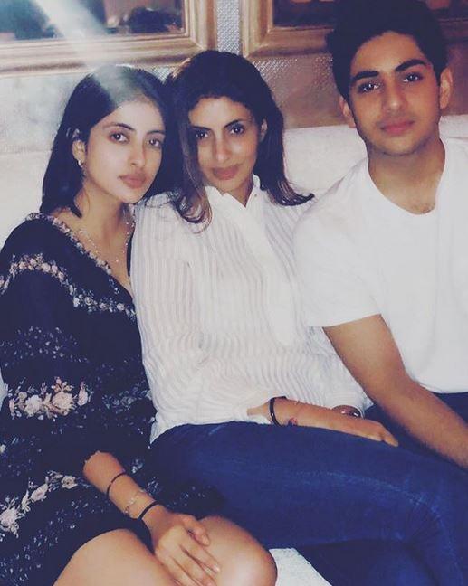 cucu ganteng Amitabh Bachchan instagram