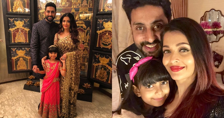 13 Penampakan rumah Aishwarya Rai & Abhishek Bachchan, ada bioskopnya