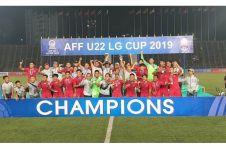 8 Potret perayaan juara timnas Indonesia, penuh haru