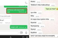 11 Chat salah paham ojek online & penumpang ini bikin mikir keras
