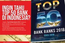 Bisnis Indonesia resmi merilis daftar peringkat bank tahun 2018