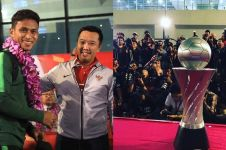 5 Momen manis penyambutan Timnas U-22, penuh kebanggaan