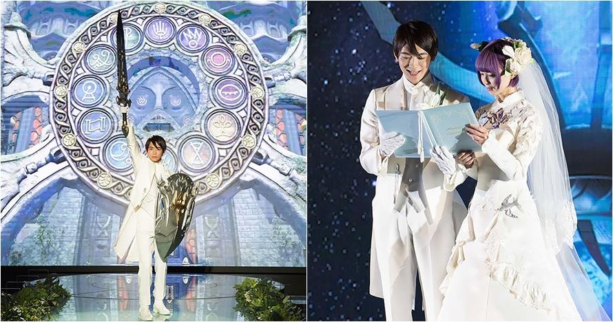 12 Potret pernikahan bertema Final Fantasy, uniknya kebangetan