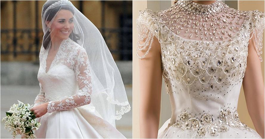 10 Gaun pengantin berharga fantastis, ada yang Rp 169 miliar