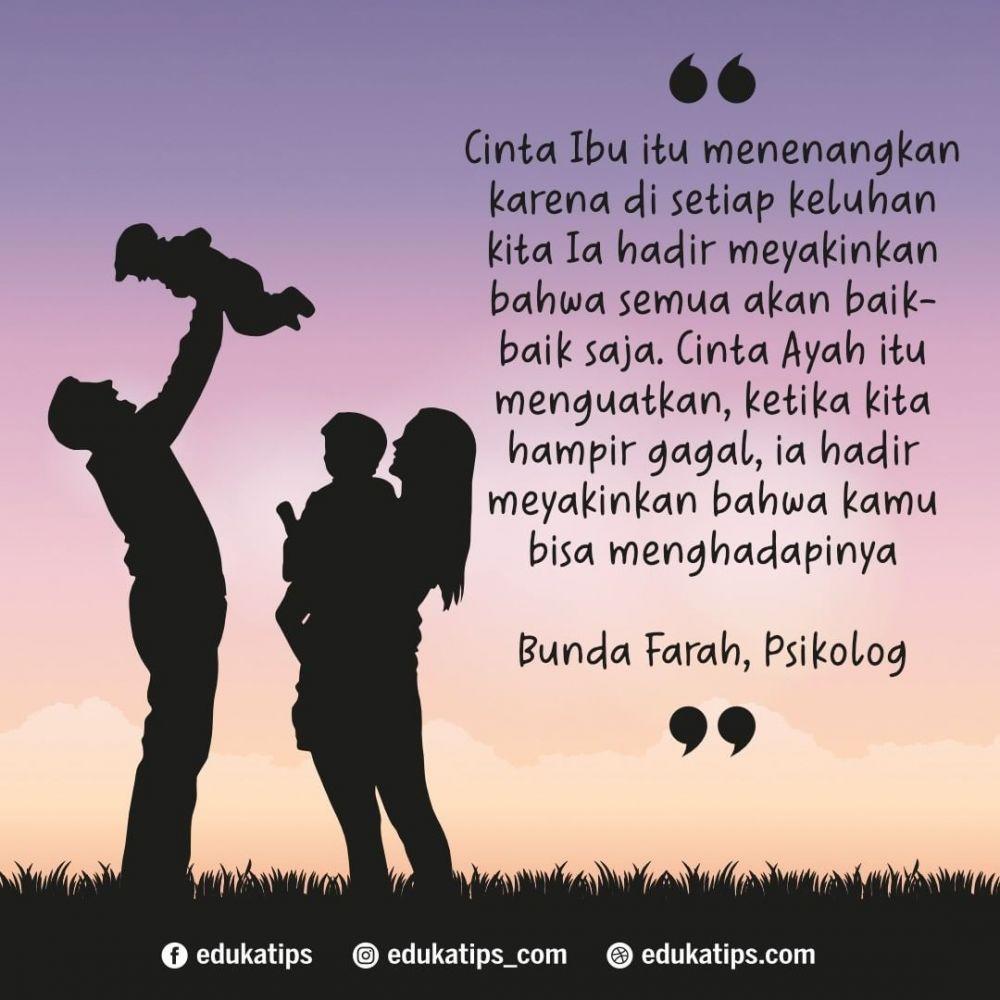 Kata Cinta Untuk Orang Tua Tersayang