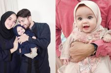 10 Foto anak Hamidah-Irvan Farhad pakai hijab, imutnya kebangetan