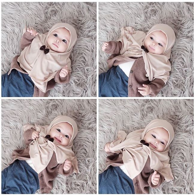 anak hamidah berhijab instagram
