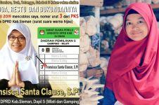 Viral caleg PKS bernama Fransisca Santa Clause, begini faktanya