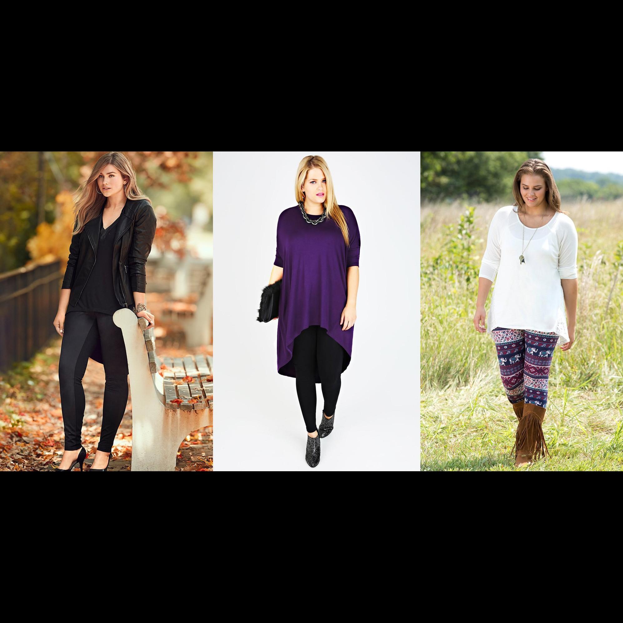 4 Tips tampil stylish pakai legging untuk wanita plus size