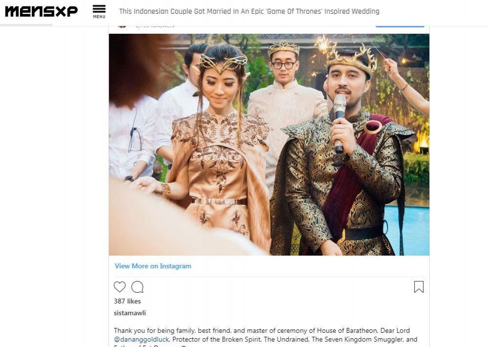 pernikahan seleb masuk media luar © 2019 brilio.net berbagai sumber