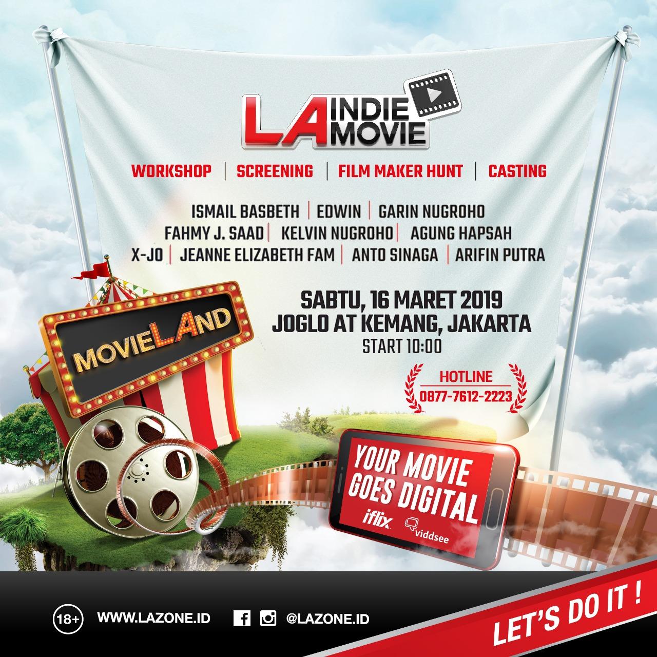 LA Movie Land 2019 siap menyapamu Maret ini, gaet Angga Dwimas lho