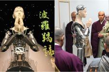 5 Aksi Mindar, robot keren berikan ajaran agama di kuil