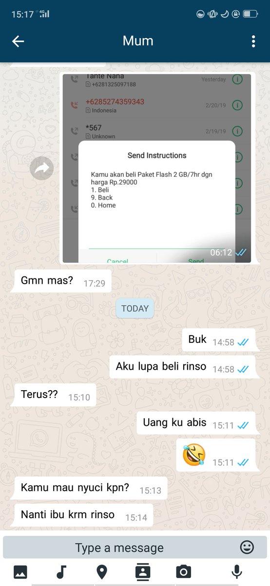chat anak minta duit © 2019 brilio.net