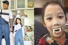 10 Potret lucu Jenaka, anak kelima Tora Sudiro & Mieke Amalia