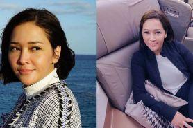 Pergi ke Surabaya, Maia Estianty mau jenguk Ahmad Dhani?