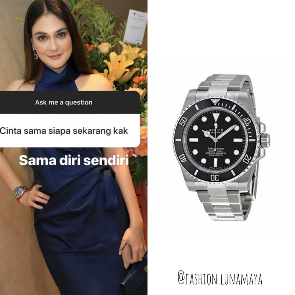 koleksi jam tangan Luna Maya  © 2019 brilio.net