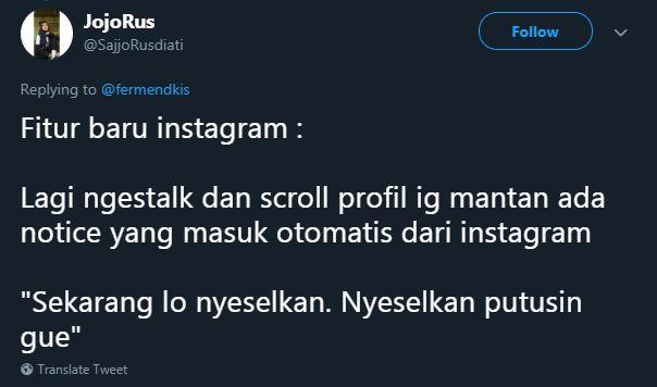 fitur baru Instagram © 2019 Twitter