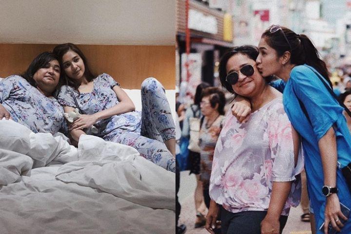 12 Potret kenangan Mikha Tambayong dan mendiang mama