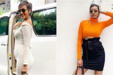 8 Outfit hamil ala model Kimmy Jayanti, tetap tampil seksi